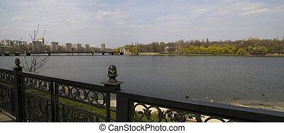 Embankment Donetsk