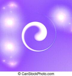 Abstract elegance background. Purple - white palette. Raster...