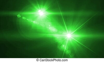 camera Flash flare blue - lens flare animated background