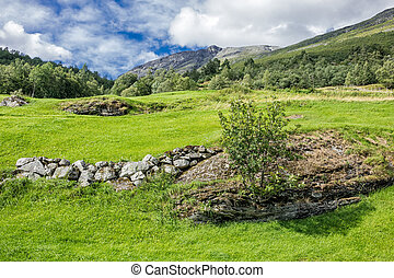 Landscape in Norway - Landscape in the mountains of Norway