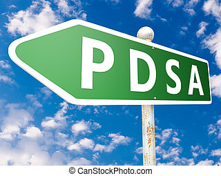 Plan Do Study Act - PDSA - Plan Do Study Act - street sign...