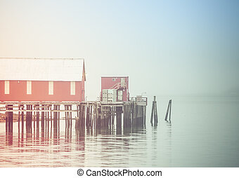 The Cannery in Fog