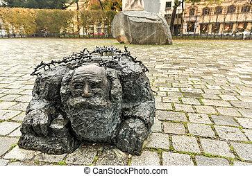 Memorial against War and Fascism - Vienna, Austria - VIENNA,...