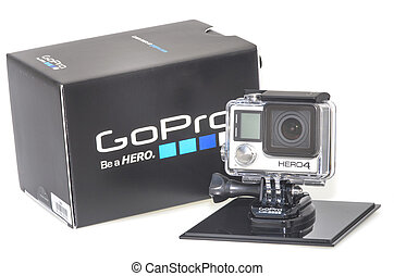 GoPro Hero 4 - New action camera from Gopro, Hero 4