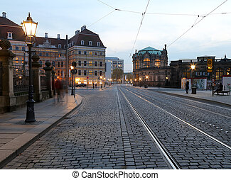 Historical center of Dresden landmarks, Germany