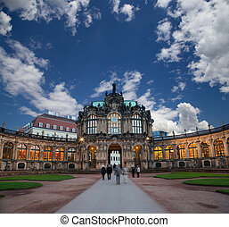 Zwinger Palace Der Dresdner Zwinger in Dresden, Germany