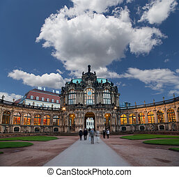 Zwinger Palace (Der Dresdner Zwinger) in Dresden, Germany