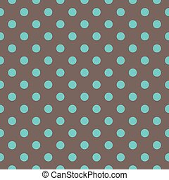 Vector polka dots pattern