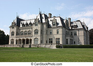 Salve Regina University in Newport Rhode Island overlooks...
