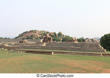 Astounding and huge Hampi  UNESCO World Heritage Site Karnataka