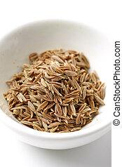 cumin - close up shot of fresh spice