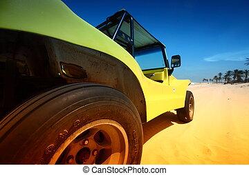 desierto, calesa