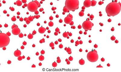 Christmas ball 00 - christmas balls with alpha matte