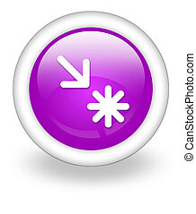 Icon, Button, Pictogram Point of Interest