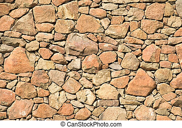 rock wall - Yellow rock wall pattern for background