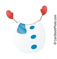 Snowman Body with Hands