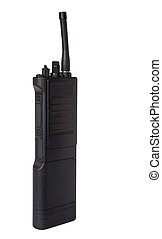Walkie talkie - Two way radio that is termed a walkie talkie