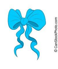 Gift Ribbon Bow Vector