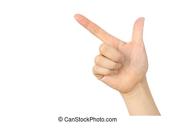 hand of pointing sign - Picture-In-Picture For YouTube