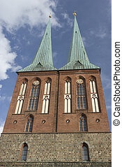 st nicholas church in berlin - st nicholas church in Berlin...