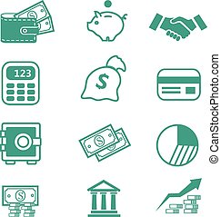 Finance Icons -
