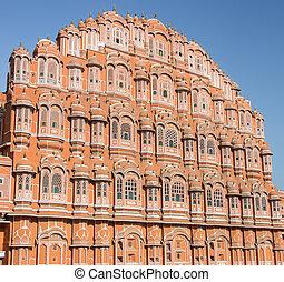 Hawa Mahal facade - Jaipur, Rajasthan - India