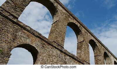 timelapse of the aqueduct