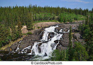 Cameron falls, just outside yellowknife