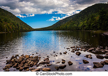 Bubble Pond, at Acadia National Park, Maine.