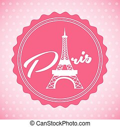 paris city design, vector illustration eps10 graphic