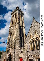 Emmanuel Episcopal Church in Baltimore, Maryland