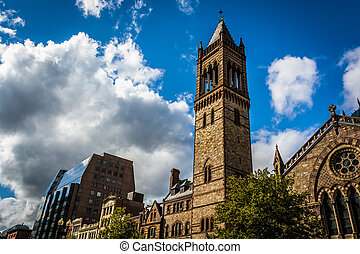 Old South Church, in Boston, Massachusetts.