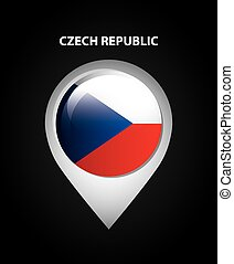 czech republic design, vector illustration eps10 graphic