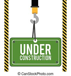Construction design,vector illustration - Construction...