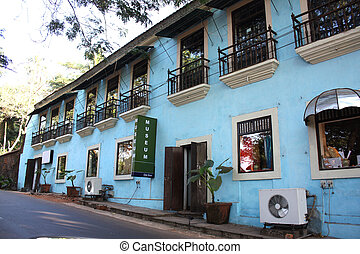 Old Goa Museum - A view of the museum with traditional...