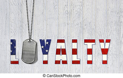 dog tags for loyalty - Military dog tags and flag font for...