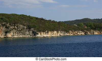 Coast of the peninsula Sithonia Northern Greece