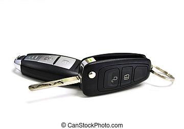 car key with remote control