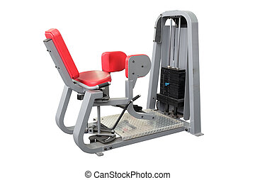 equipment - interior of gym with equipment