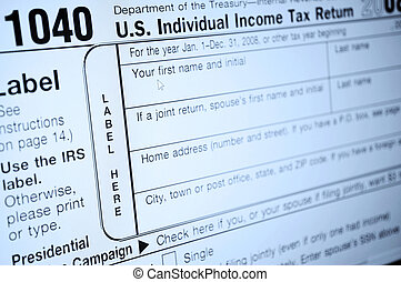 income tax forms - Individual income tax forms from the...