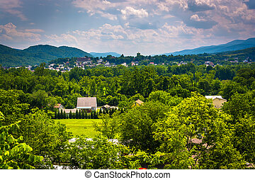 View of Keyser, West Virginia