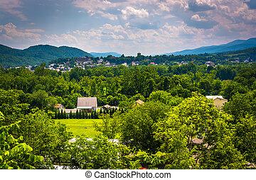 View of Keyser, West Virginia.