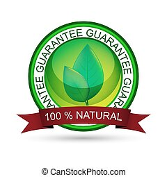 Natural product vector icon