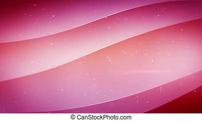 smooth pink waving loopable back