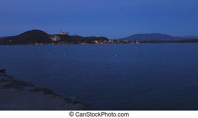 Angera Fortress Maggiore lake - Angera Fortress on Maggiore...
