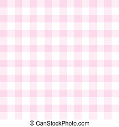 Seamless vector pink plaid pattern