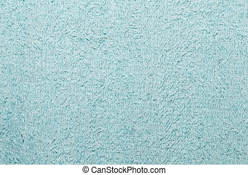 blue cotton material as background