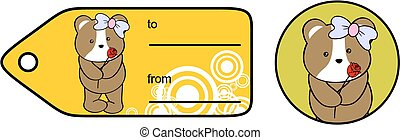 hamster girl rose love giftcard - sweet baby hamster girl...