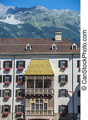 The Golden Roof in Innsbruck, Austria - The Goldenes Dachl...