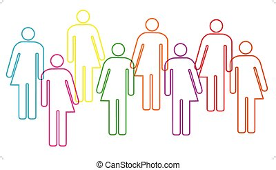 Transgender diversity banner - A banner graphic depicting...